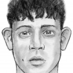 This is a police sketch of an attempted kidnapper. A nine-year-old girl was just walking to the mailbox and a guy drove up, grabbed her, and threw her in his van. I had to go to this little girl's house. She wasn't that freaked out, she was actually a great witness. Little kids can be great for this kind of thing, when they're old enough to articulate what they saw but still don't have the filters of the adult brain. She showed me exactly how far down his hairline came and described this little birthmark on his cheek.