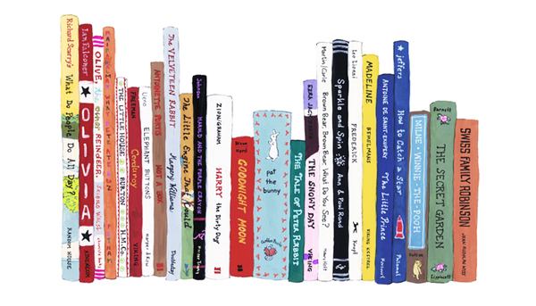 The Paris Review Blog Archive Jane Mount On The Ideal Bookshelf