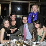 Caroline Palmer, Georgina Schaeffer, Luke Parker Bowles, Jane Friedman, and Molly Fisher