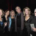 Paula Styron, Alexandra Styron, Rose Styron, Peter Matthiessen, Susanna Styron, and Maria Matthiessen