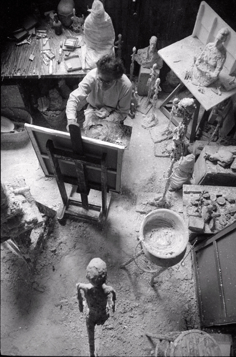 In Giacometti's Studio Michael Peppiatt