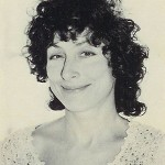 Ellen Willis in 1981. Photograph by Jade Albert.