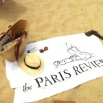 The Paris Review Beach Towel