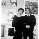 Daisy Aldan and her student Gerard at the Donnell Library, New York, 1960. Courtesy Archives Malanga.