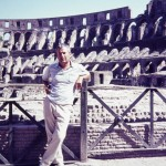 Joseph Heller in Rome, summer 1966. Courtesy Erica Heller.
