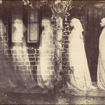 Anonymous, 'The Ghost of Bernadette Soubirous,' albumen  silver print, 1890..