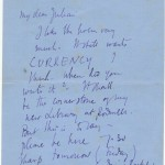 Document: Woolf's Letter to a Young Poet