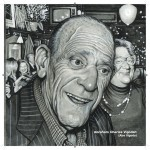 Abe Vigoda by Drew Friedman from 'Even More Old Jewish Comedians.'