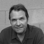 Denis Johnson photographed by Cindy Johnson.