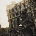 Mervyn Peake in Germany, 1945 © Mervyn Peake Estate and British Library.