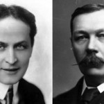 Harry Houdini and Arthur Conan Doyle.