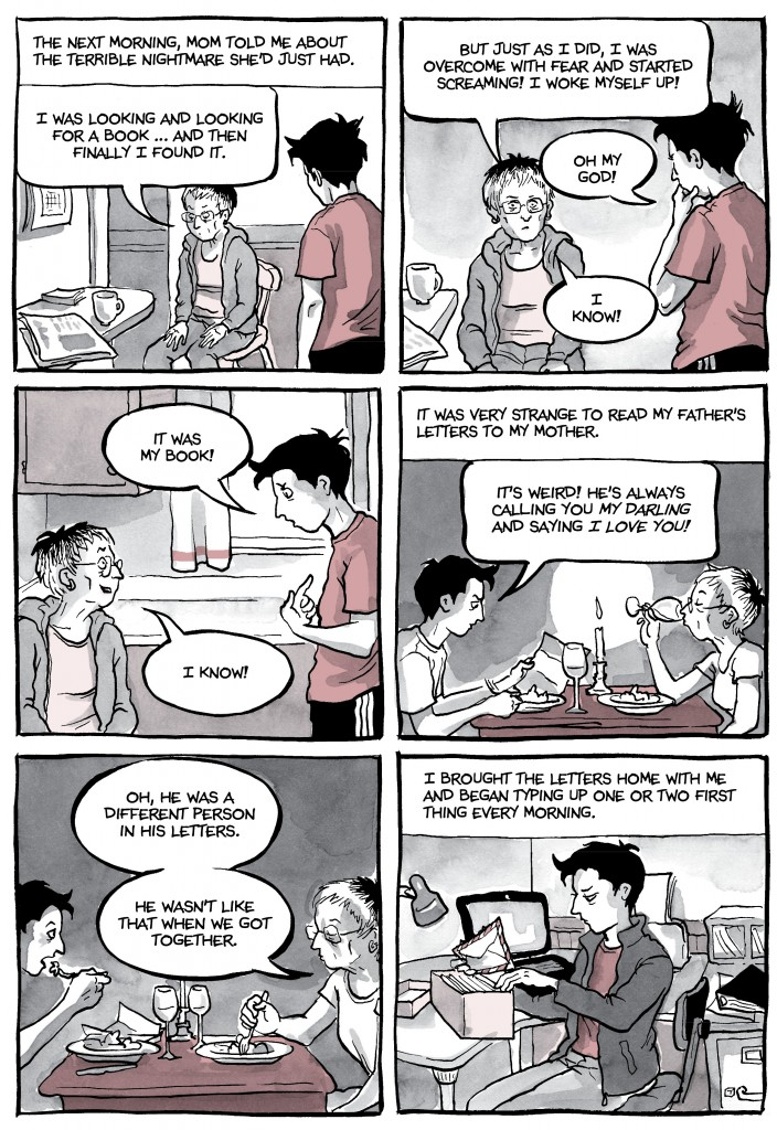 Alison Bechdel's first graphic memoir, Fun Home , told the story of her ...