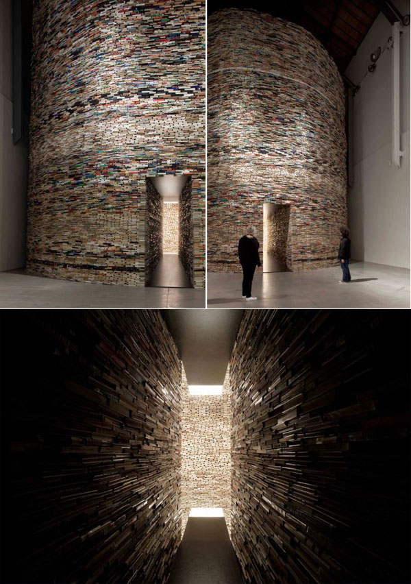 """Cловацкий художник и дизайнер Матей Крен создал инстраляцию под названием  """"Сканер  """"."""