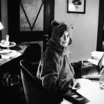 Susan Sontag in a Teddy Bear Suit