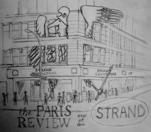 Katherine Cannella Paris Review Tote Bag Contest Submission