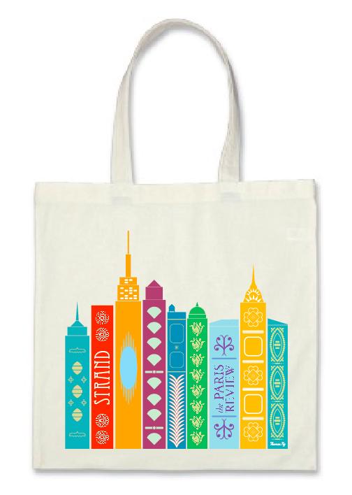 Thomas Ng Paris Review Tote Bag Contest Submission
