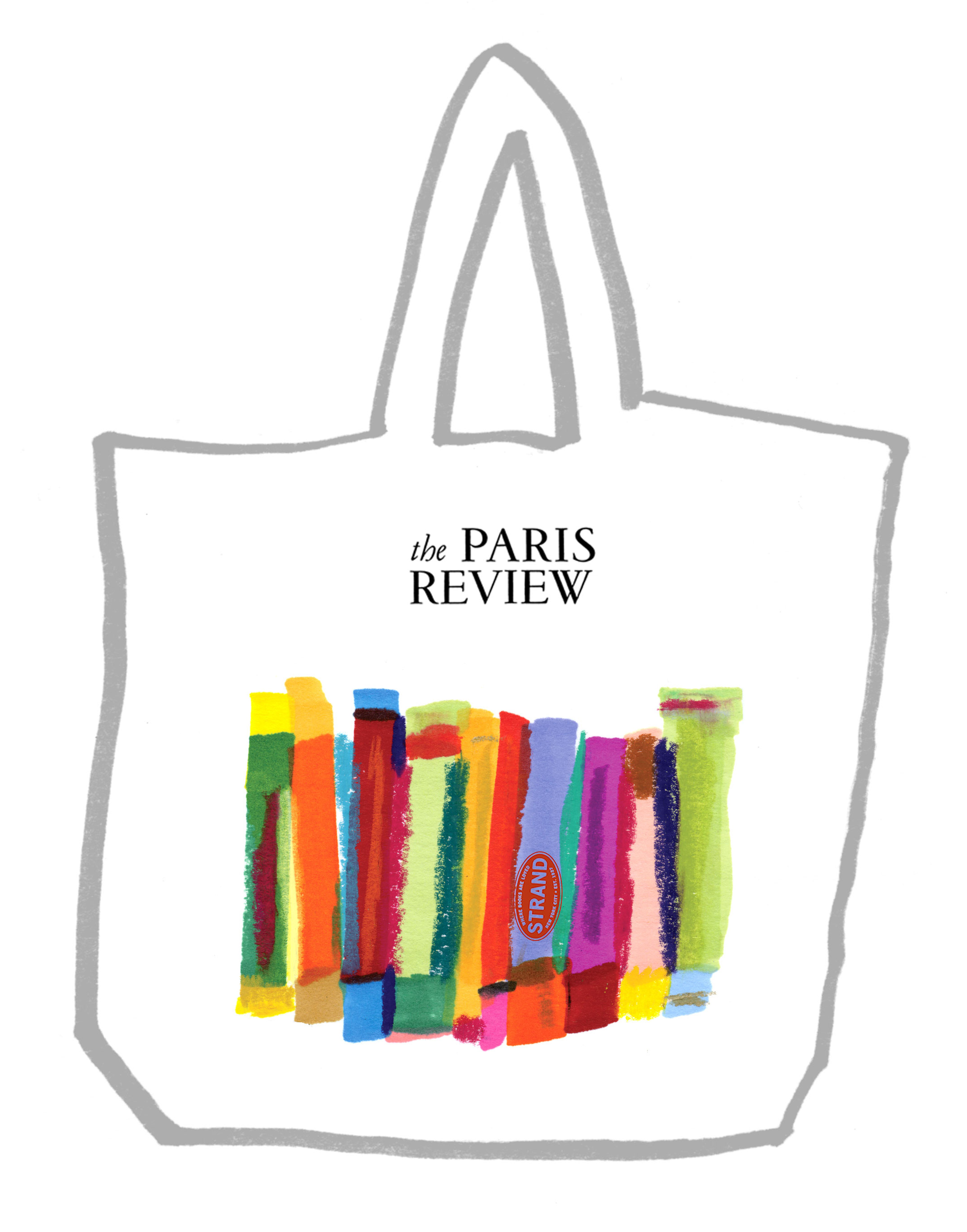 Joanna Neborsky Paris Review Tote Bag Contest Submission