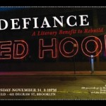 Defiance: A Literary Benefit to Rebuild Red Hook