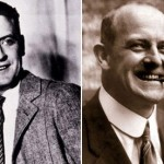 F Scott Fitzgerald and PG Wodehouse
