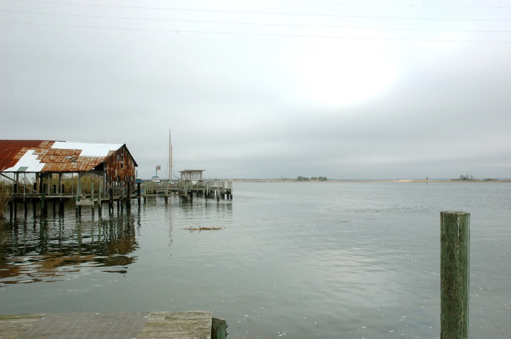 The Apalachicola waterfront.