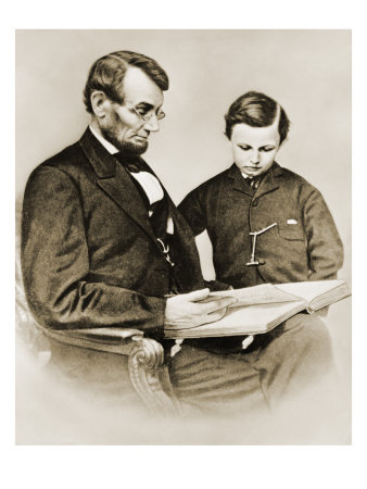 Lincoln+Reading+With+Child