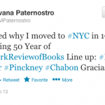 The <em>NYRB</em> Fiftieth Anniversary Kickoff, in Tweets