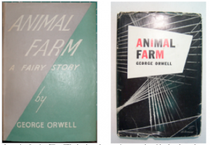 The first editions: U.K. (1945) and U.S. (1946).