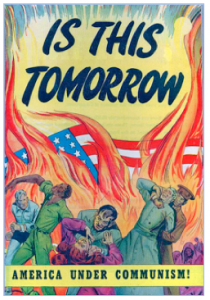 "Is This Tomorrow: America Under Communism! ""Educational"" Comic Book. Catechetical Guild, 1947"