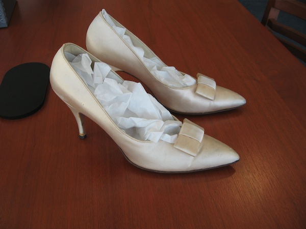 Unidentified pair of shoes. Sheri Martinelli's?