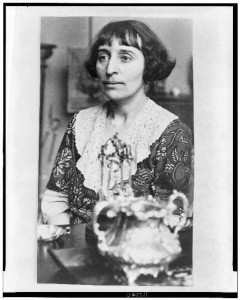 Well-known businesswoman Alice B. Toklas