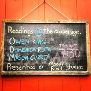 Readings cooperage sign may
