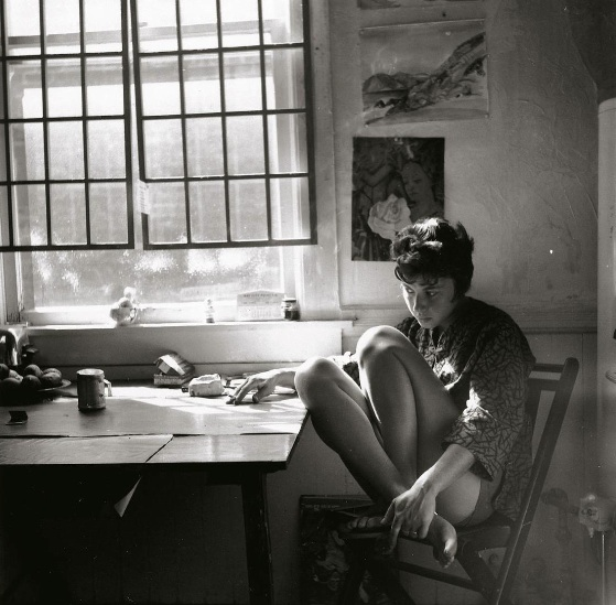 DeFeo, 1960. Photo via The Whitney Museum of American Art