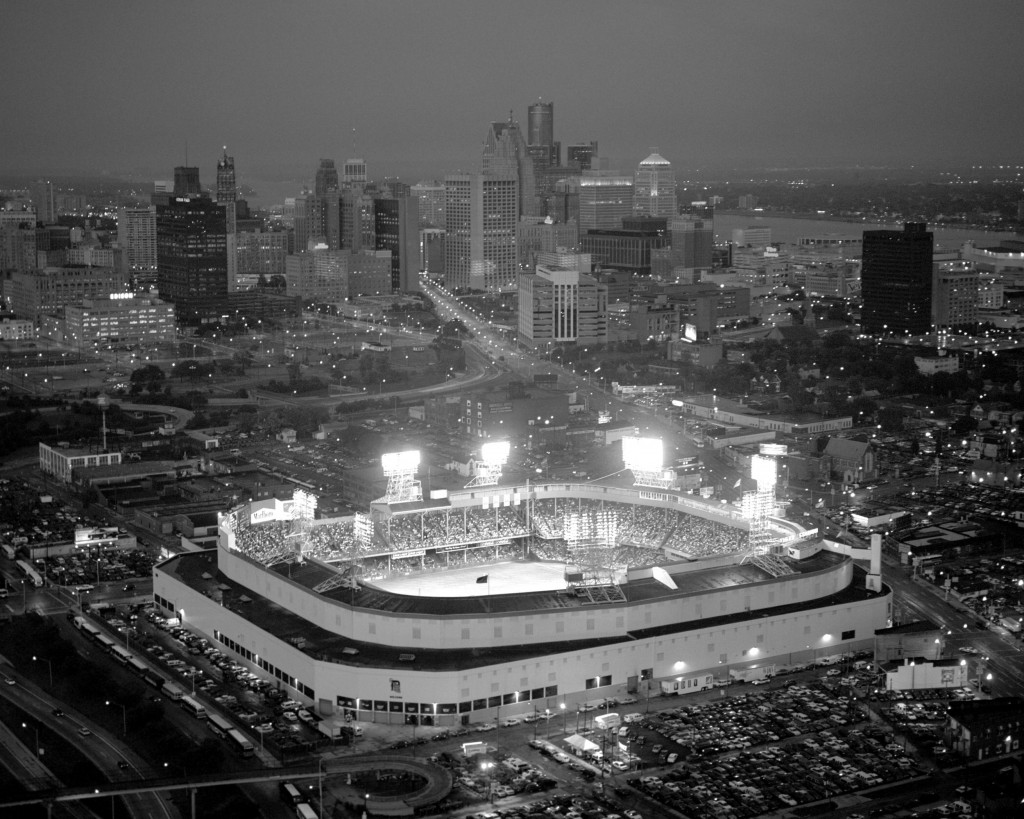 Tiger Stadium in 1984.