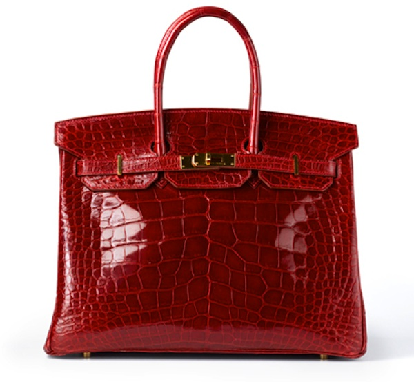 Handbag, Hermès, French, 1998 Alligator skin and metal Accessi
