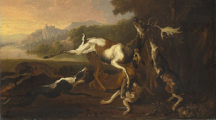 Abraham Hondius, The Deer Hunt, ca. 1650–95.