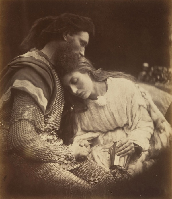 The Parting of Lancelot and Guinevere 1874 Albumen silver print from glass negative David Hunter McAlpin Fund, 1952, The Metropolitan Museum of Art