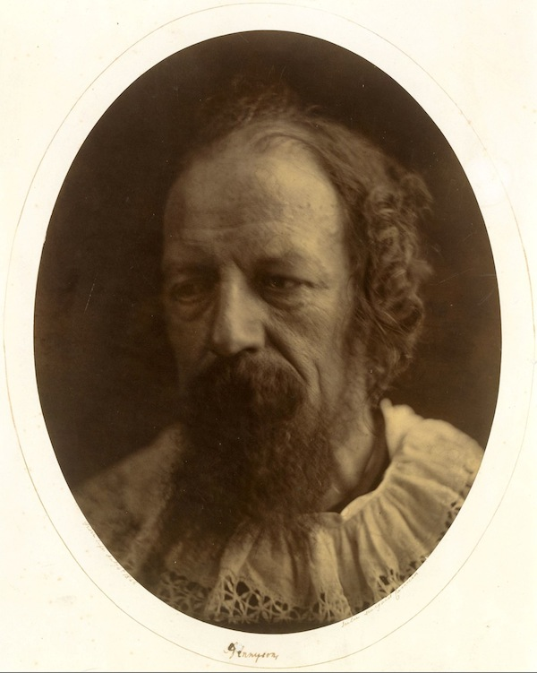 Alfred, Lord Tennyson July 4, 1866 Albumen silver print from glass negative The Rubel Collection, Purchase, Lila Acheson Wallace, Michael and Jane Wilson, and Harry Kahn Gifts,  1997, The Metropolitan Museum of Art