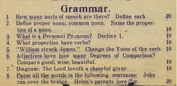 Grammarquiz