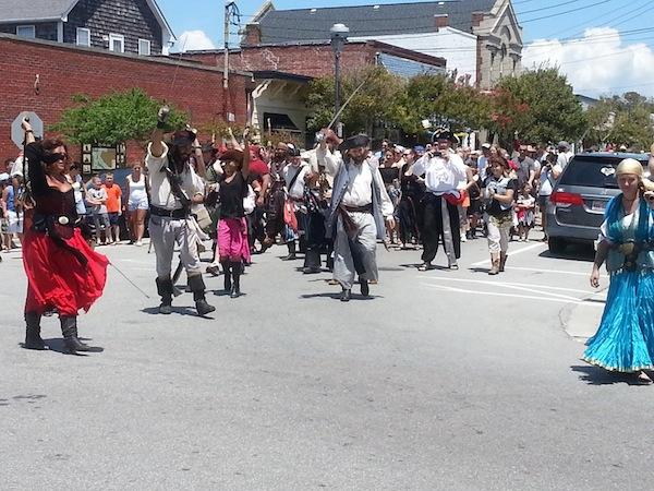 pirate procession!