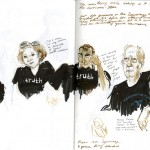 Sketches from the Trial of Bradley Manning