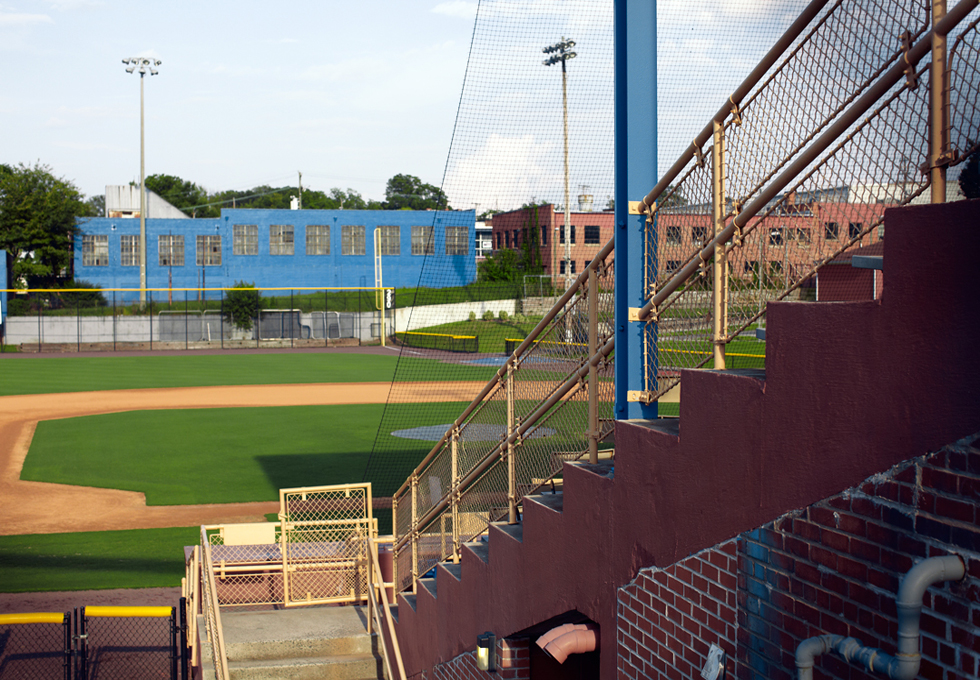 The Old Durham Bulls Park. Photo: Kate Joyce
