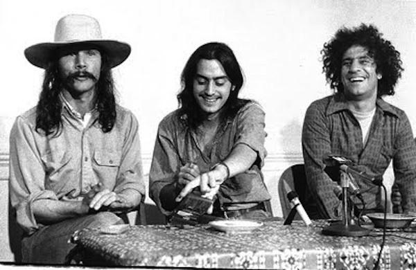 Tom Forcade, Mayer Vishner, Abbie Hoffman, 1971