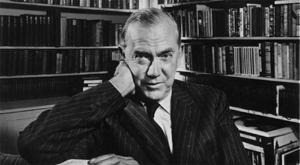 1978 photo of author Graham Greene. Credit: Karsh.
