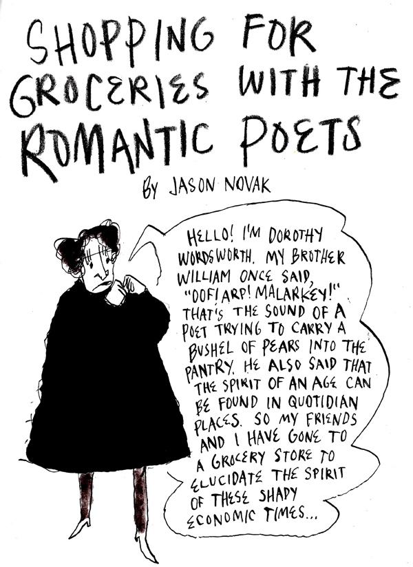 Shopping for Groceries with the Romantic Poets – The Paris Review