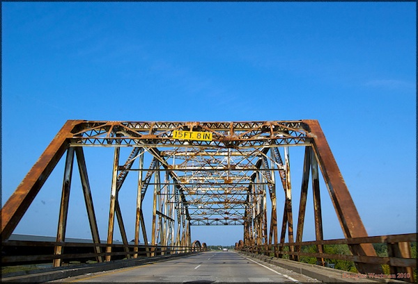 Highway 51 Bridge Between Wagoner And Coweta