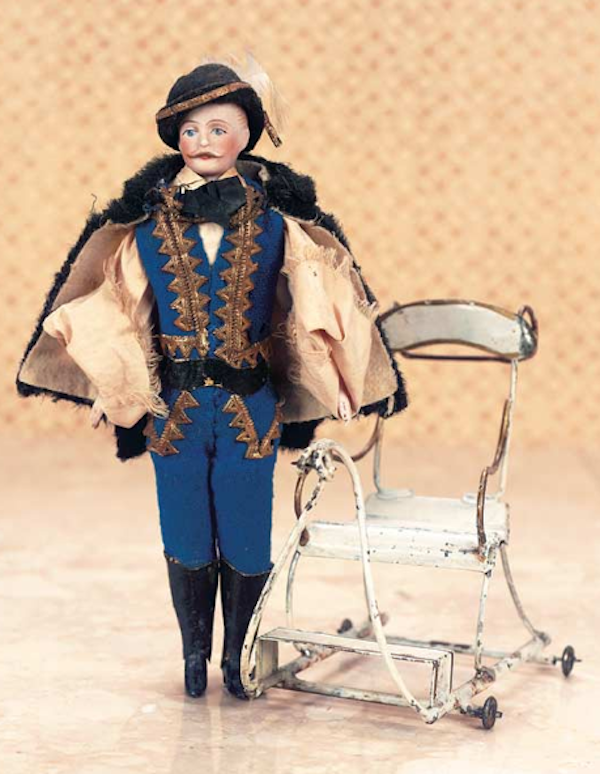 The kind of absurd lengths to which male dolls are forced to go,