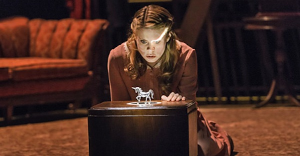 Celia Keenan-Bolger as Laura Wingfield in the current revival of The Glass Menagerie.
