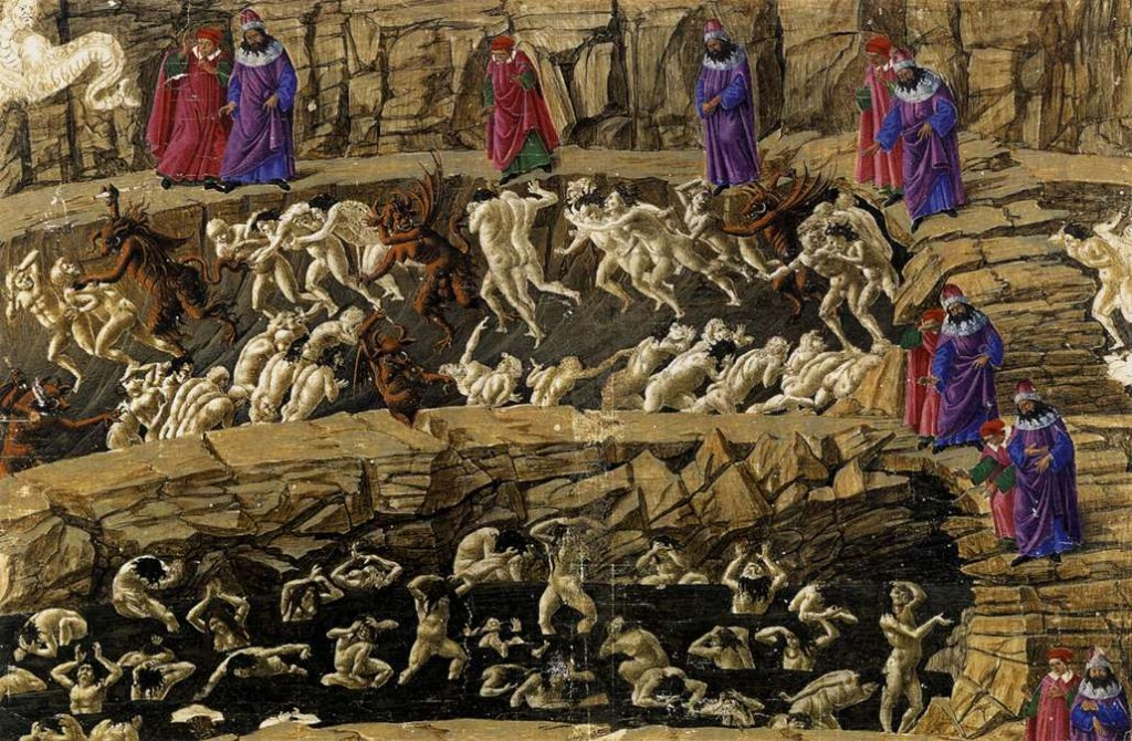 Sandro_Botticelli_-_Inferno,_Canto_XVIII_-_WGA02854