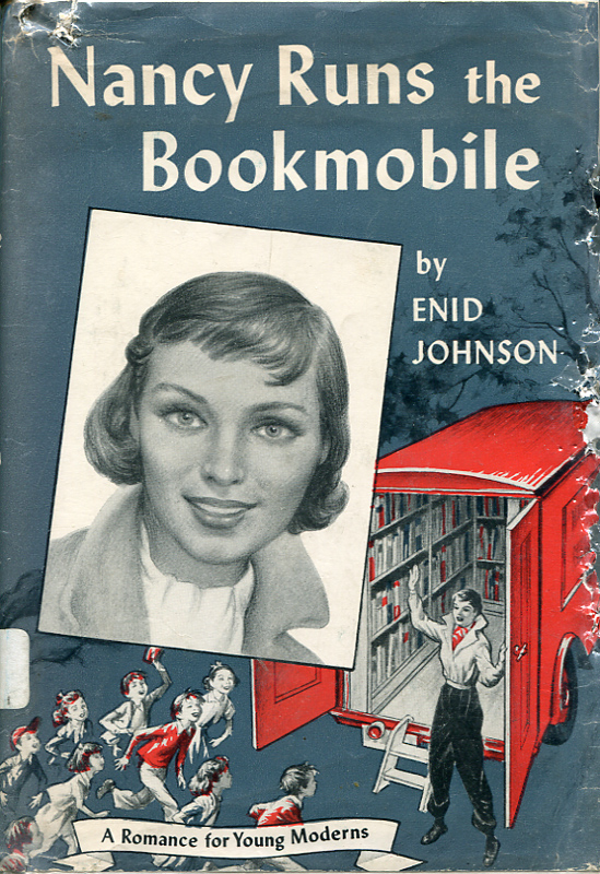 nancy runs the bookmobile