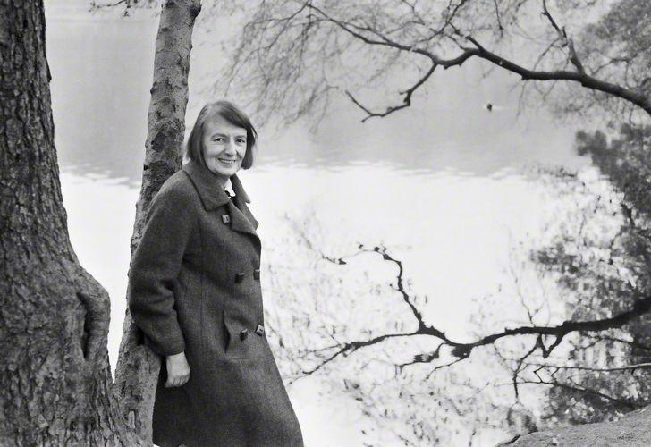 NPG x133107; Florence Margaret ('Stevie') Smith by Jane Bown
